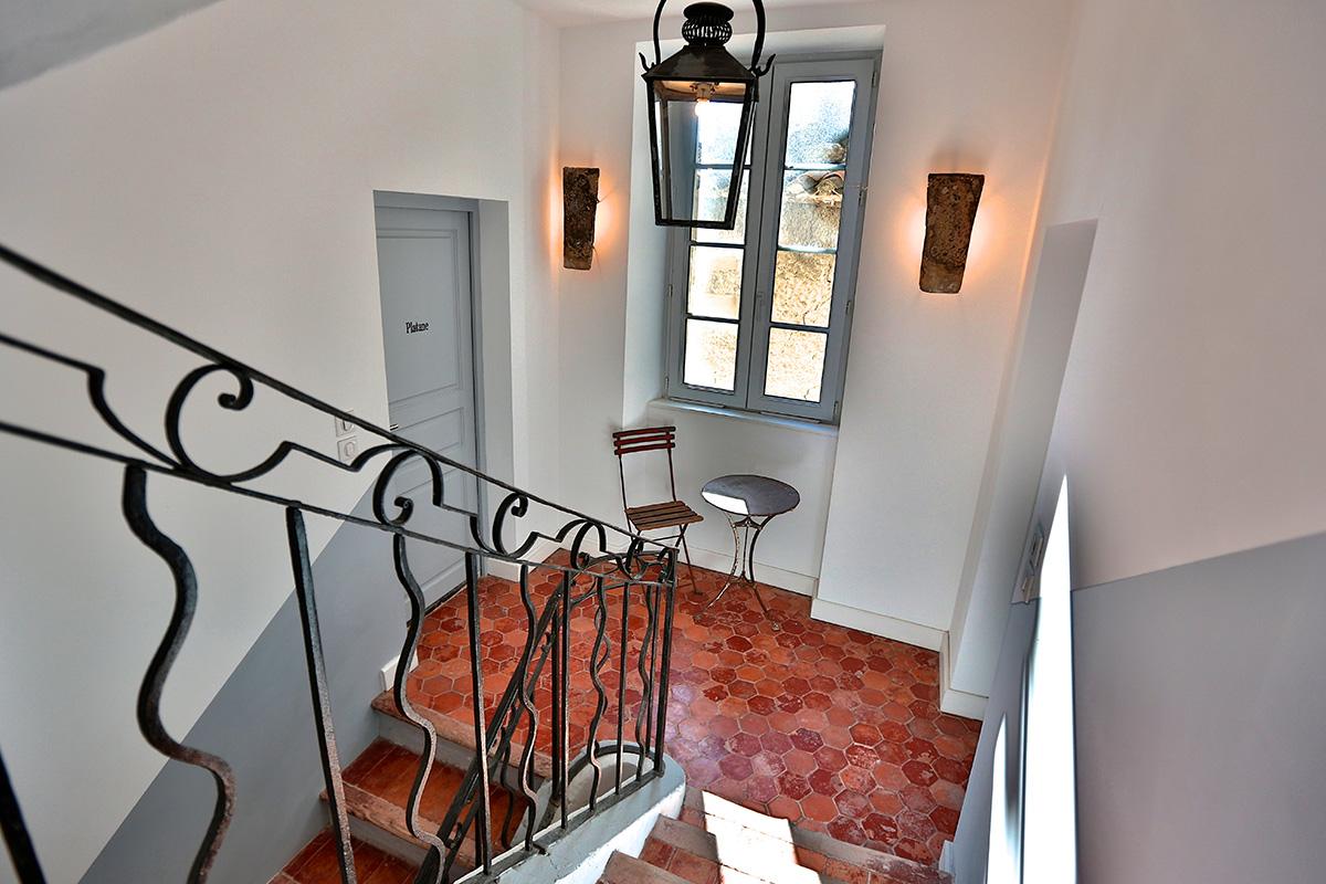 Inside the Blue Bastide