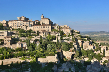 The famous village of Gordes